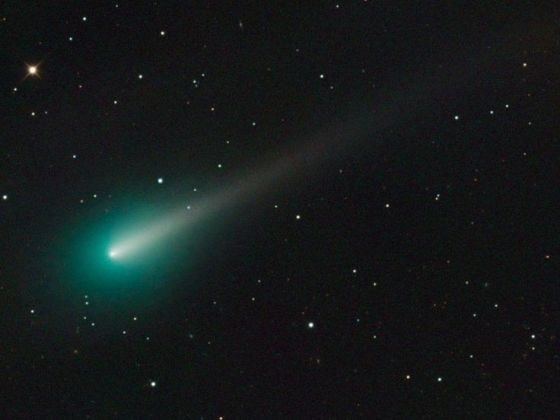 green meteor