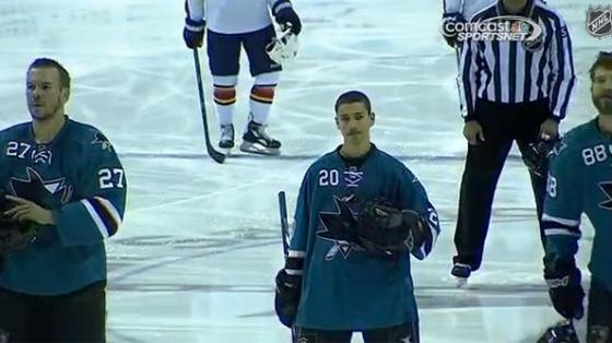Sam Tageson/San Jose Sharks